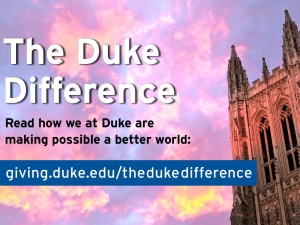 The Duke Difference logo